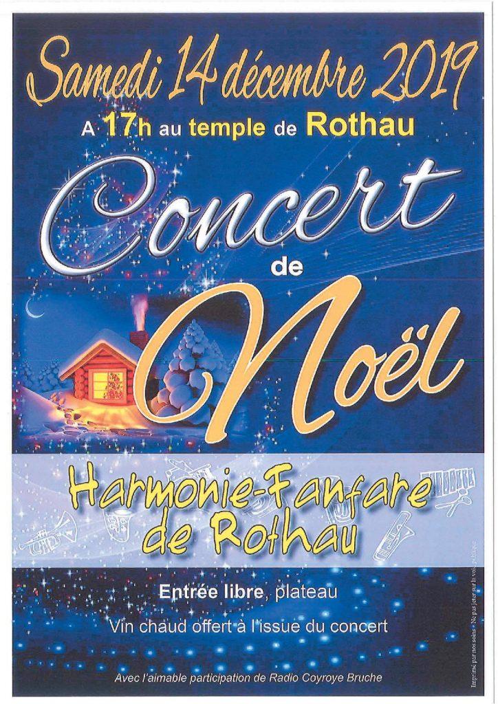 Concert de Noël à Rothau @ Temple de Rothau | Rothau | Grand Est | France