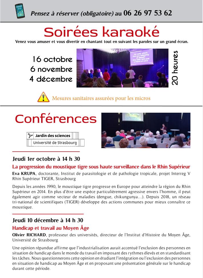 Handicap et trvail au Moyen Âge @ Le Repère | Schirmeck | Grand Est | France
