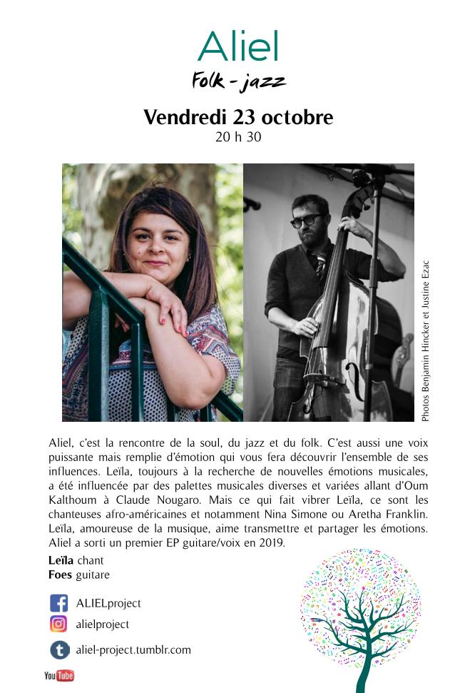 Aliel @ Le Repère | Schirmeck | Grand Est | France