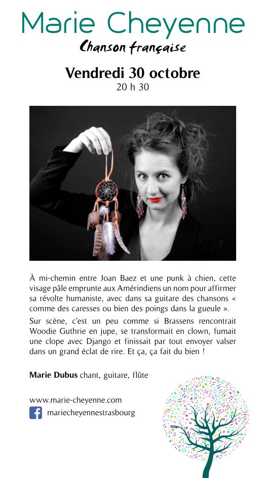 Marie Cheyenne @ Le Repère | Schirmeck | Grand Est | France