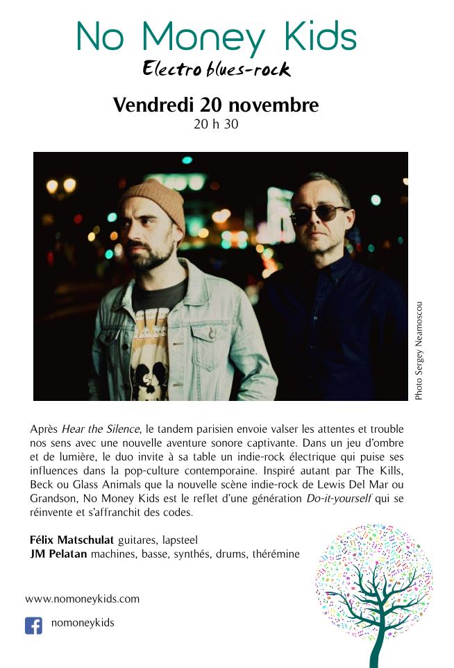 No Money Kids @ Le Repère | Schirmeck | Grand Est | France