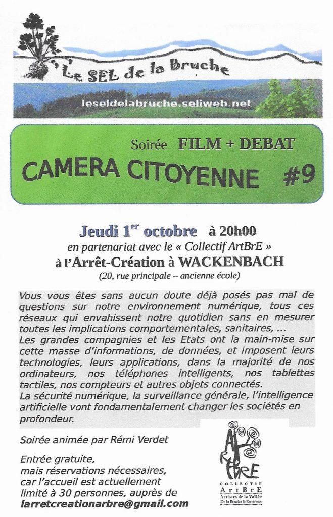Camera citoyenne @ Arrêt Création | Schirmeck | Grand Est | France