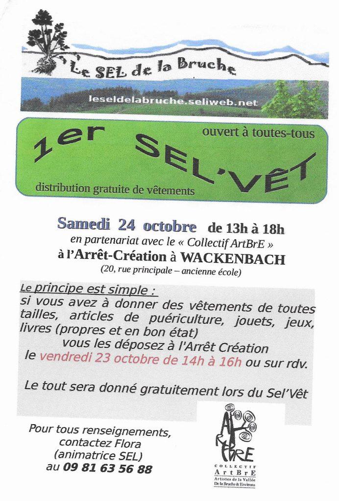 1er SEL'VÊT @ Arrêt Création | Schirmeck | Grand Est | France