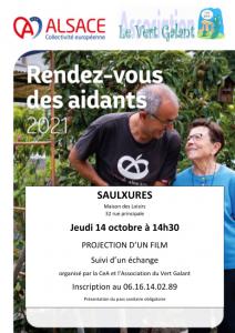 Rendez-vous des aidants @ Maison des Loisirs | Saulxures | Grand Est | France
